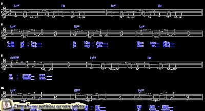 Zimrah partition : « Paix » par Denis Riedinger